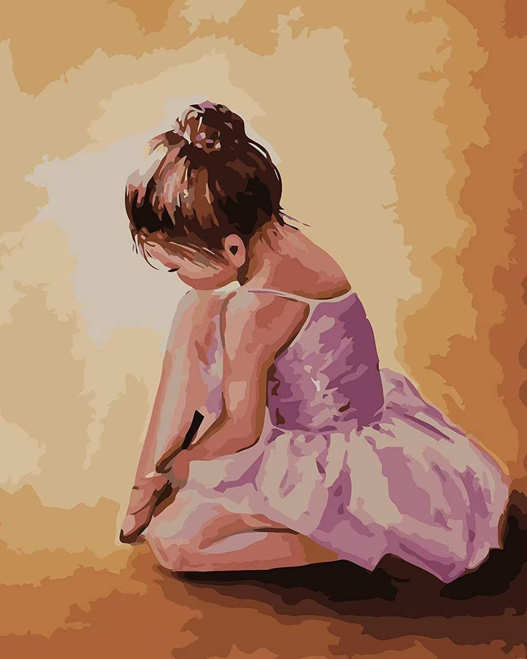 DIY Painting Paint By Number Kit inch 16 Lovely - cheap 20 Colorado Springs Mall Ballerina