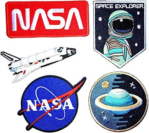 i-Patch - 0130-0074 - Sticker - Badges - Astronaut - Stickerei - Applikation - Aufnäher - Planet - Raumschiff - Raumfahrt - NASA - Aufbügler - Flicken - zum aufbügeln - Space - Alien