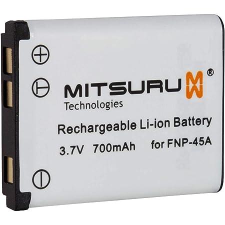 Mitsuru Akku Ersatz Kompatibel Mit Fuji Fujifilm Np45 Kamera