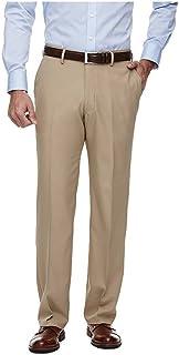 Haggar H26 Men's Classic Fit Performance Pants - Khaki 38x32