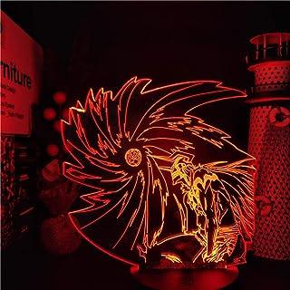 Christmas Decorations BLEACH Kurosaki Ichigo Ban 3D Anime Luz LED nocturna Lampara Home Decoration Lámpara de mesa DUYAO00