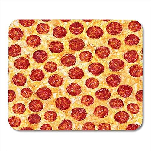 Muis Mat Patroon Pepperoni Pizza Voedsel Gebruik Dit Materiaal en Menus Collage Binnen Ontwerpen Kaas muismat Matten 25X30cm