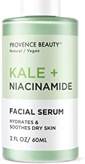 Best Kale and Hyaluronic Acid Face Serum - Facial Serum for Hydration, Moisture and Anti Aging - Wrinkle and Fine Line Reduction - for Sensitive Skin - 2 Fl Oz Review