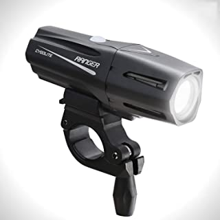 Cygolite Ranger – 1,400 Lumen Bike Light – 5 Night & 3 Daytime Modes – Compact & Durable – IP67 Waterproof – Secured Hard ...