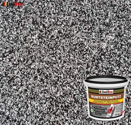Buntsteinputz Mosaikputz BP30 (schwarz, grau, weiss) 10kg Absolute ProfiQualität