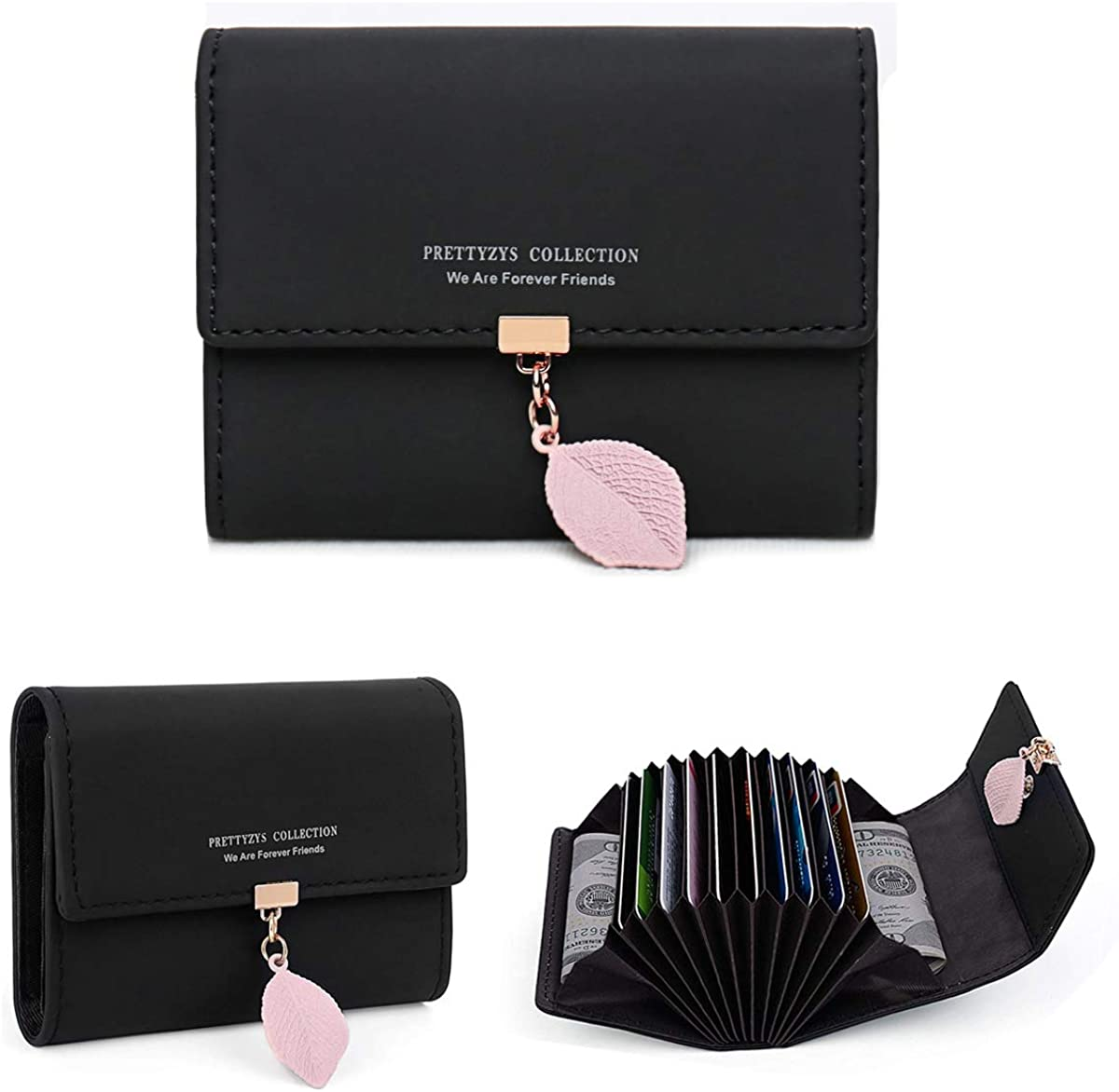 DLseego Small Fresh Women Wallets Soft Phoenix Mall Card Credit Ho Leather PU Free shipping on posting reviews