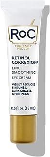 RoC Retinol Correxion Line Smoothing Anti-Aging Retinol Eye Cream for Dark Circles & Puffy Eyes, 0.5 Ounce (Packaging May ...