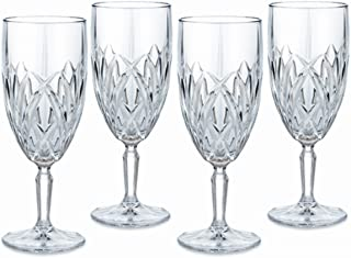 Marquis by Waterford Brookside 12-Ounce Footed Iced-Beverage Goblets, Set of 4 by Marquis By Waterford