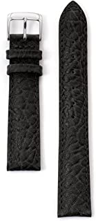 Speidel Genuine Leather Watch Band with Stainless Steel Buckle - Available in Multiple Strap Colors, Lengths & Widths 12-28MM
