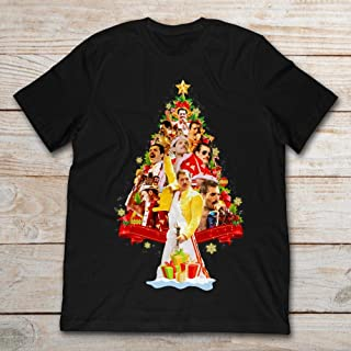 Best freddie mercury christmas t shirt Reviews