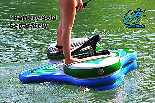 Waterblade Motorized Electric SUP Stingray (Green/Blue)