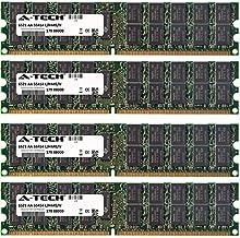 A-Tech 16GB (4x4GB) ECC RAM for Asus KF Series KFSN4-DRE/iKVM KFSN5-D | DDR2 800MHz ECC RDIMM PC2-6400 2rx4 Registered DIMM Server Memory Kit