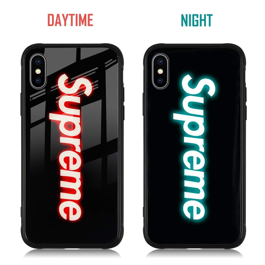supreme iphone xs max case amazon com