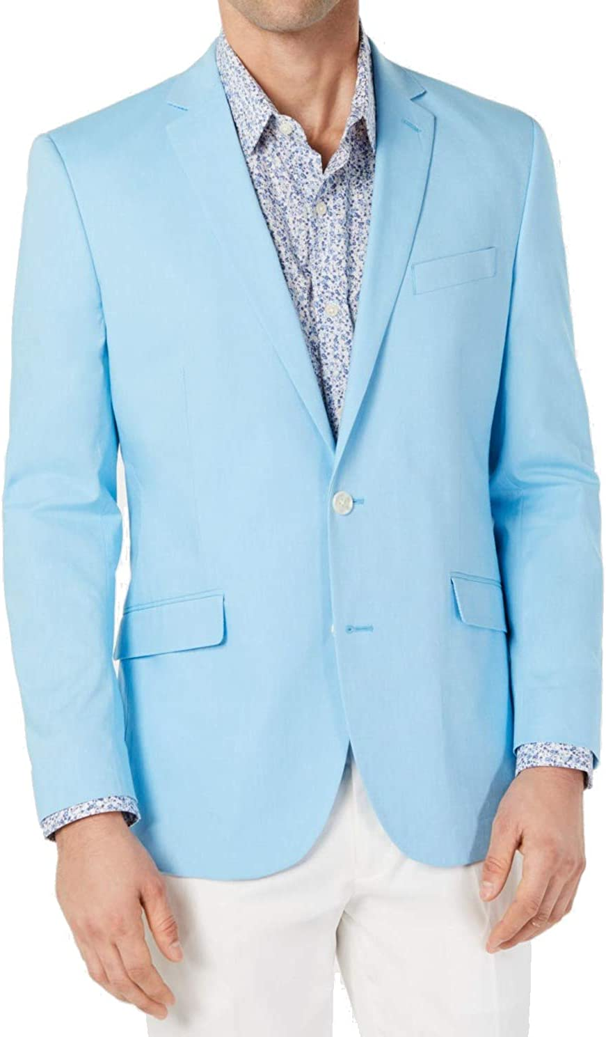 Unlisted Kenneth Cole Mens Sport Coat Sky Blue