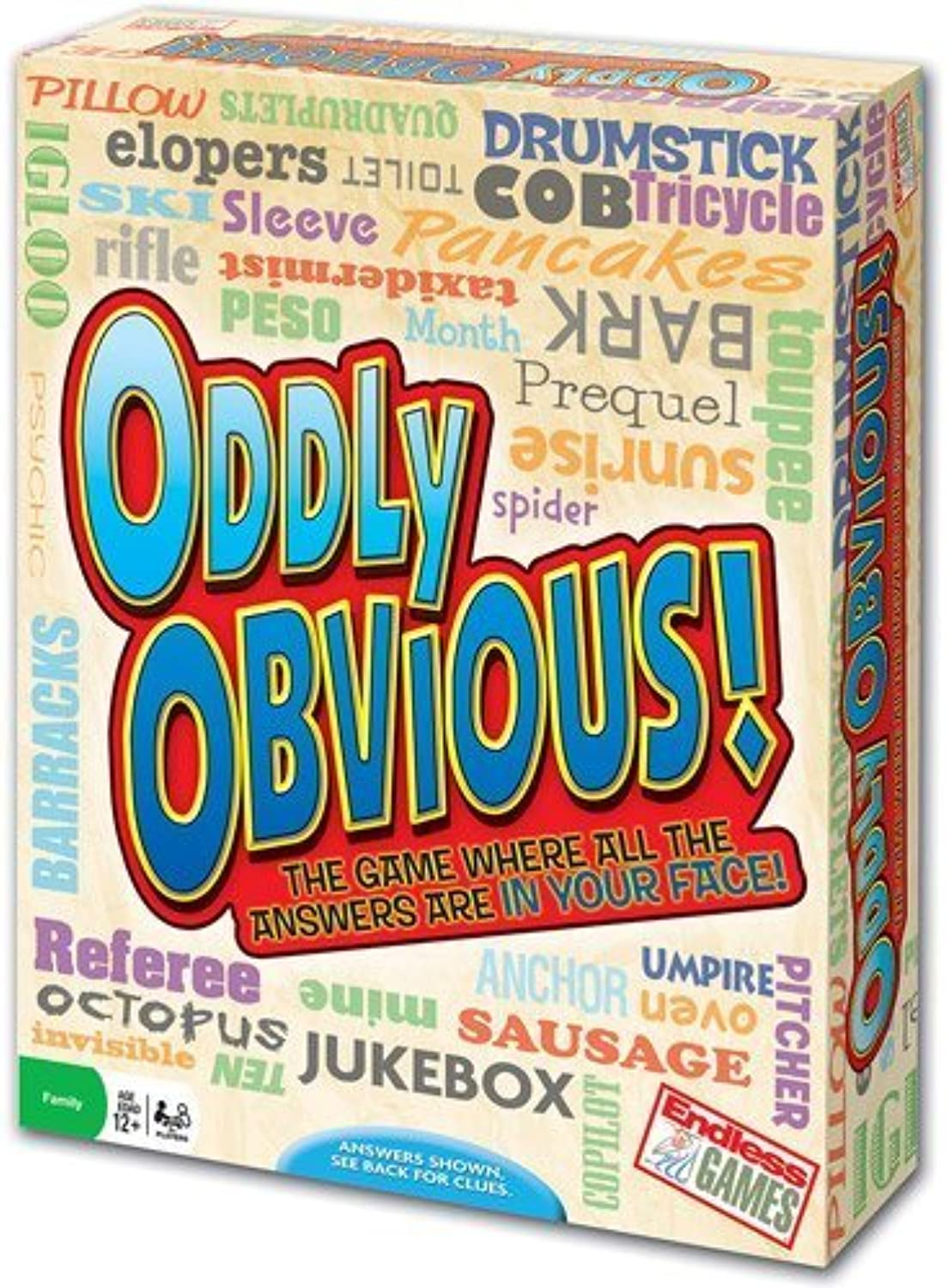 autorización Oddly Obvious Party Juego for 3 or or or more Jugarers, identify correct answers by MegaDeal  toma