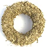 """Topiary Art Works 11"""" Sphagnum Moss Living Wreath Round, Natural-Organic Original - 6 Wreaths Value Combo"""