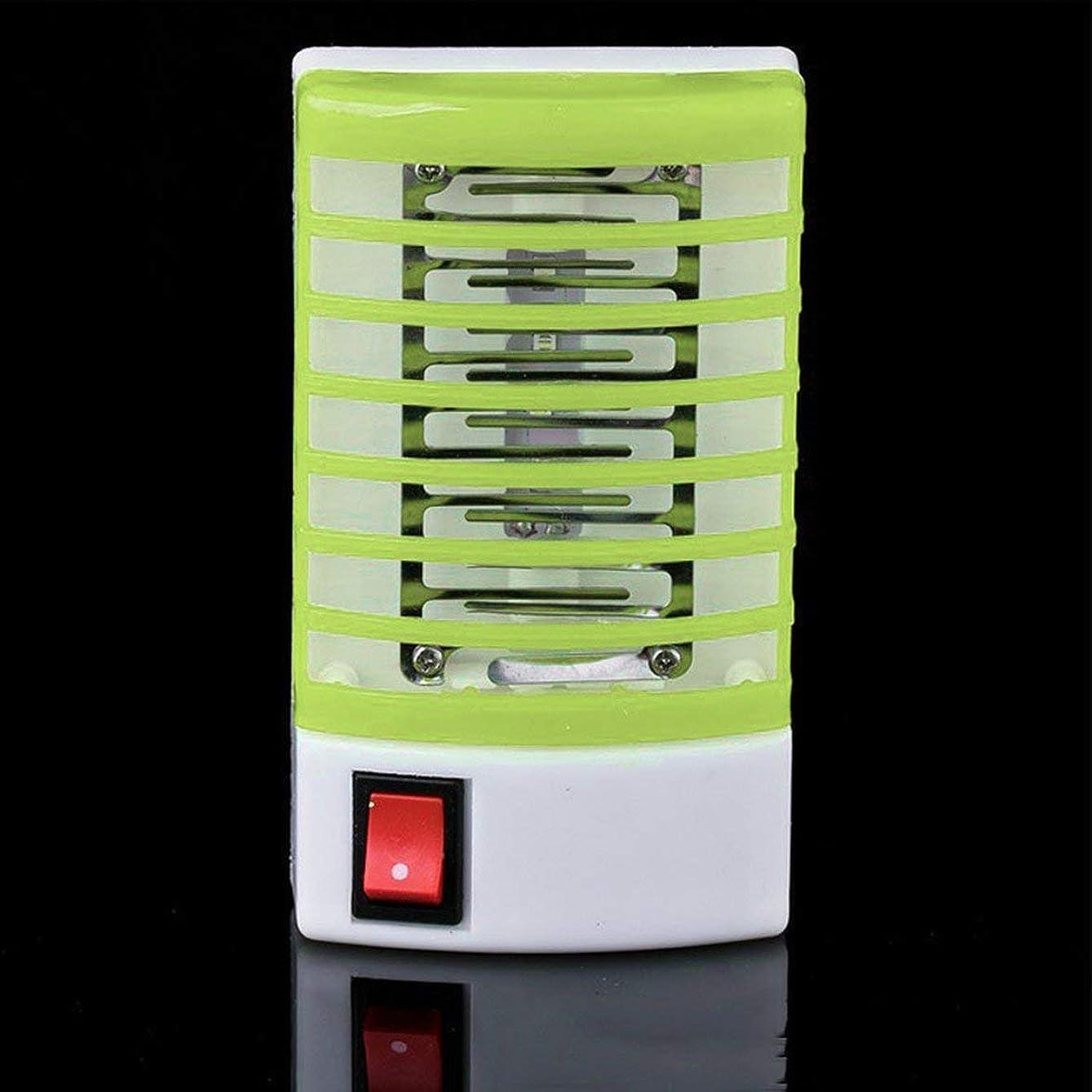 ウィンク落胆させる絡まるポータブル光触媒蚊ランプホームLED昆虫キラー電気屋内蚊ランプアンチ蚊忌避ライト - グリーン