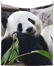 grote panda beer china dierentuin groene bladeren Tapestry Muur Tapestry Voor Slaapkamer Woonkamer Muur Art Tapestries Dec...