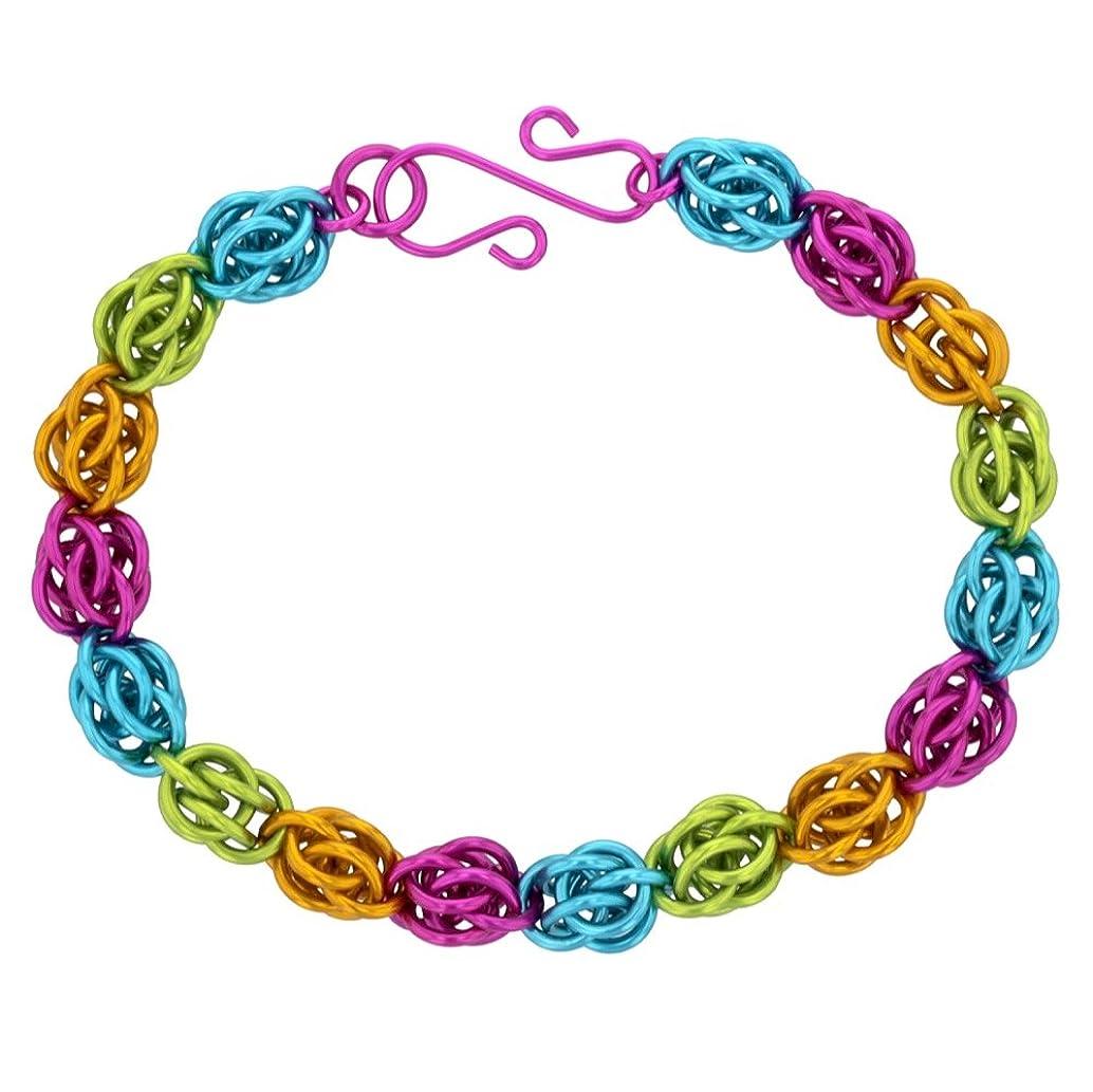 Jellybean Sweetpea Chain Maille Bracelet Kit