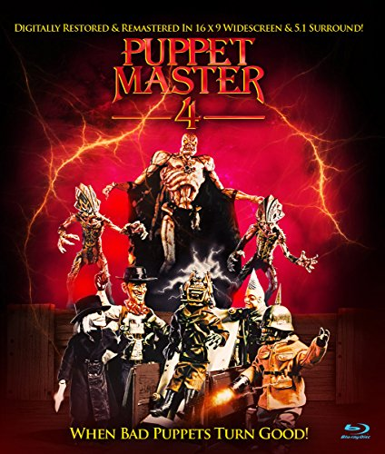 Puppet Master 4: When Bad Puppets Turn Good Blu-ray