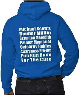Brisco Brands Dunder Run Race Cure Funny Scranton TV Comedy Hoodie