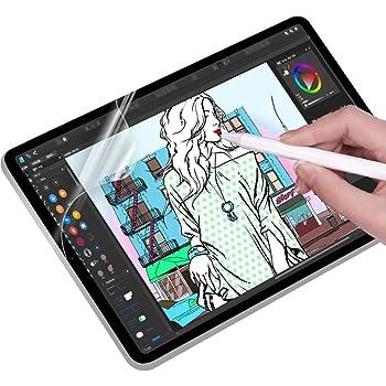iPad 9.7用 【ケント紙】ペーパーライク フィルム 紙のような描き心地 反射低減 非光沢 アンチグレア ペン先磨耗防止 保護フィルム 貼り付け失敗無料交換