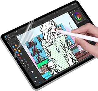 iPad 10.2 (8世代 2020) /iPad 7世代 2019 保護フィルム ペーパーライク フィルム 紙のような描き心地 反射低減 非光沢 アンチグレア ペン先磨耗防止 貼り付け失敗無料交換