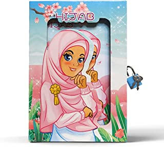 A5 Hard Box Lockbook (muslim Girl)