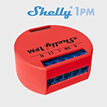 Shelly Wi-Fi Relay Switch with Wattometer 1PM red