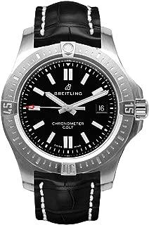 Breitling Chronomat Colt Automatic 44 Black Dial Watch A1738810/BG81-743P