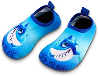 Toddler Kids Swim Water Shoes Quick Dry Non-Slip Water Skin Barefoot Sports Shoes Aqua Socks for Boys Girls Toddler