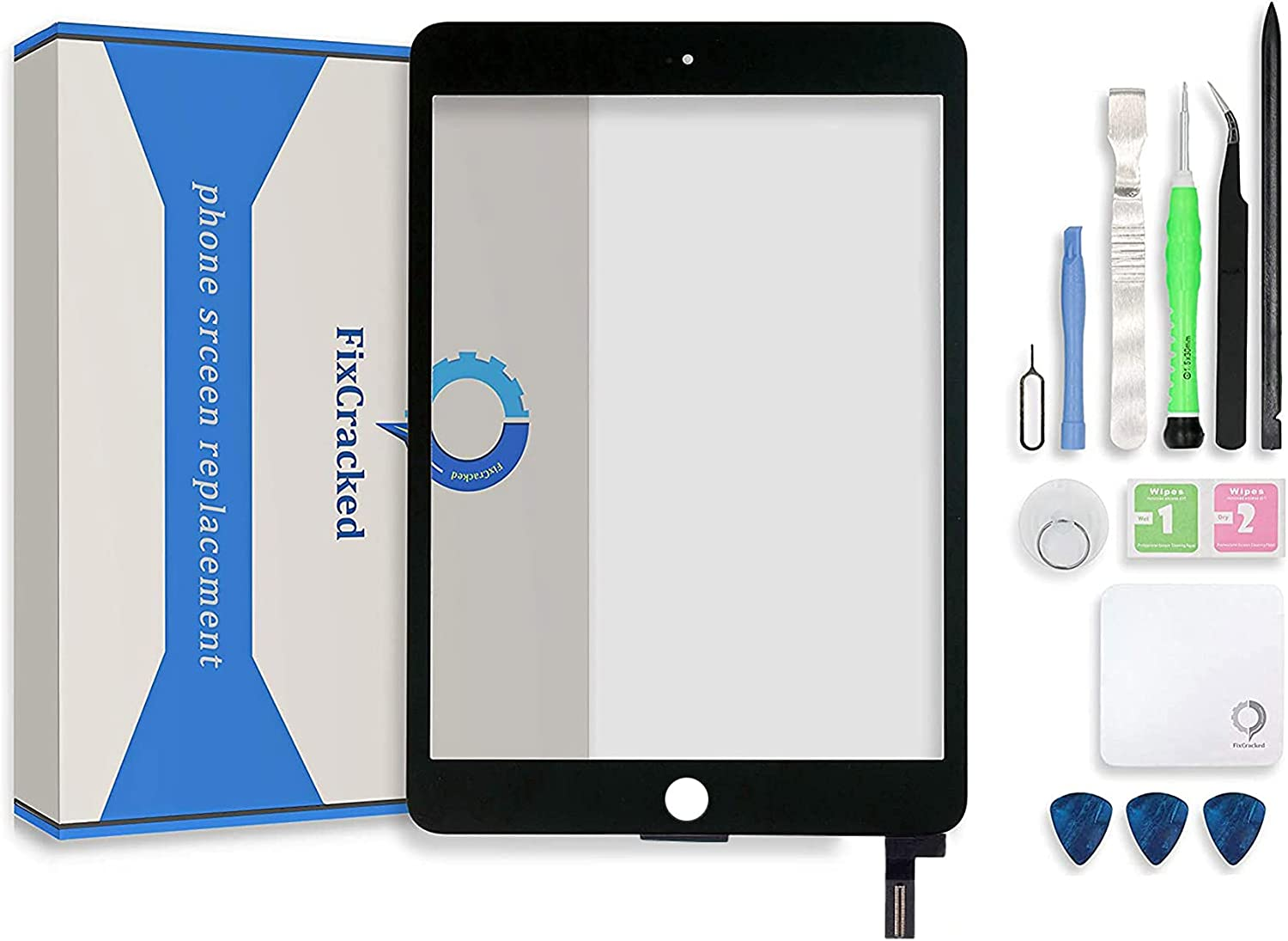 FixCracked Touch Screen Replacement Glass Digitizer store Parts Large-scale sale Assemb