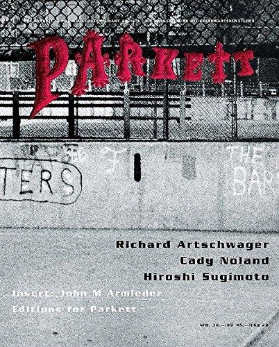 Artschwager, Richard/ Noland, Cady/ Sugimoto, Hiroshi: Insert: Armleder, John M (Parkett / Die Parkett-Reihe mit Gegenwartskünstlern)