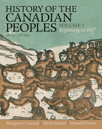 HISTORY OF CANADIAN PEOPLES,V