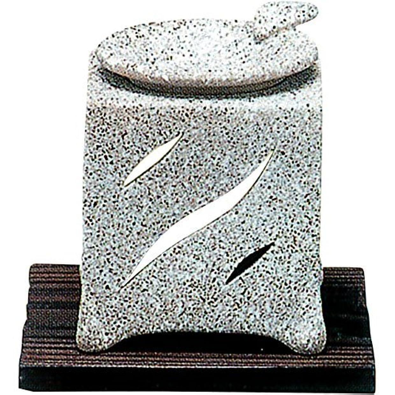 プレフィックス石の震える常滑焼 5-261 山房石風角形茶香炉 山房10×10×H12㎝
