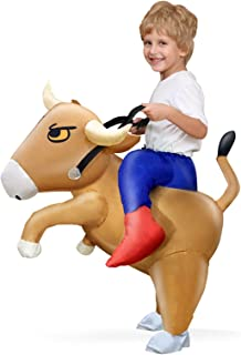 Bull Inflatable Costume Halloween Cosplay Party Dress up