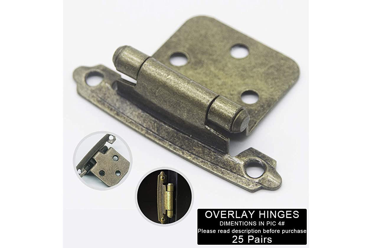 Silver Moon Hardware Cabinet Hinges, for Kitchen Cabinets ...