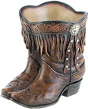 Summerfield Terrace Fringed Cowboy Boot Planter