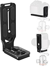 【Limited Edition】 GEEKOTO L-Shaped Quick Release Plate Aluminum Bracket for DSLR and MLC Adapt Tripod Head with 1/4 Screw ...