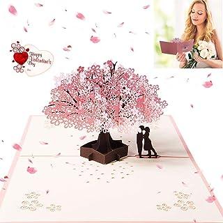 3D Pop up Tarjetas y Sobres/Tarjeta de felicitación desplegable para cumpleaños/Navidad/Año Nuevo/Dia de la madre/aniversario/San Valentín/boda/graduación/Tarjetas de Felicitación