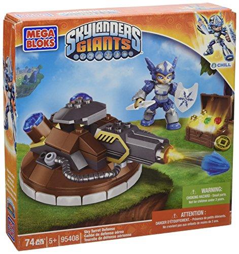 Mega Bloks - Juego de construcción para niños Skylanders de 74 piezas...