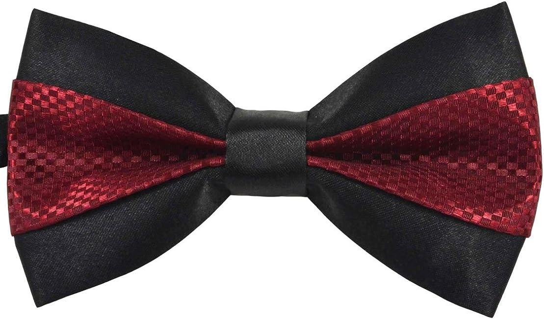 SYAYA Boy's Fashion Adjustable Bow Tie, Pre-tied Bow Tie for Kids CLJ04