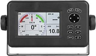 HP-528A 4.3in Marine Navigator, Color LCD Marine GPS Navigator with Alarm Locator Class B AIS Transponder Combo, Marine GP...