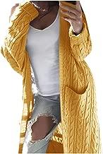 👍ONLY TOP👍 Women Long Cardigan Sweater Top Long Sleeve Loose Knitting Cardigan Sweater Women Knitted Female Cardigan