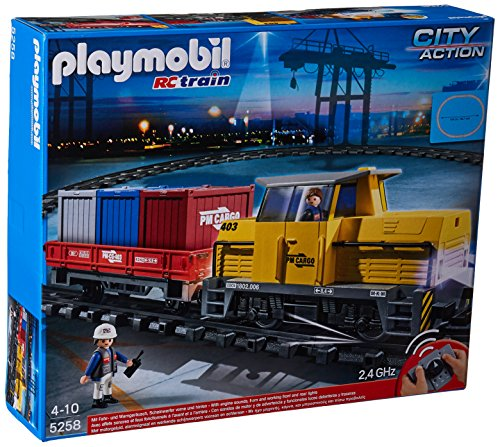 PLAYMOBIL: Tren de mercancías con radiocontrol