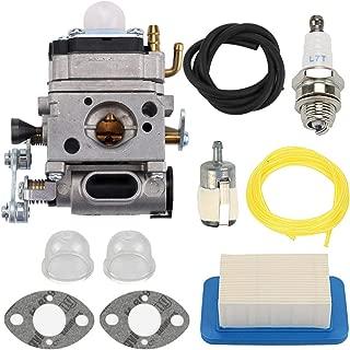 Mannial Carburetor Carb with Air Filter fit Echo Gas Blower PB500 PB500T PB500H EB508RT A021001641 A021001642 Walbro WLA-1
