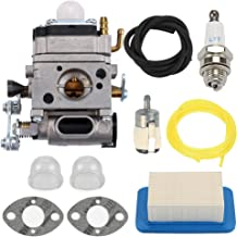Mannial Carburetor Carb with Air Filter fit Echo Gas Blower PB500 PB500T PB500H EB508RT A021001641 A021001642 Walbro WLA-1
