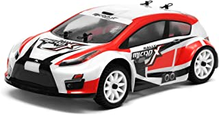 Exceed RC MicroX Racing 1/24 Micro Scale Rally Car Ready to Run 2.4ghz (Red)