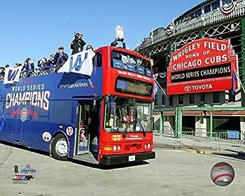 Cubs 2016 World Series Wrigley Field Championship Parade 8  x 10  Baseball Photo