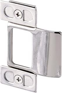 Defender Security U 9488 Adjustable Door Strike, Chrome Plated, 2-Piece